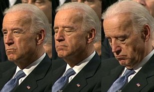 Image result for biden sleeping