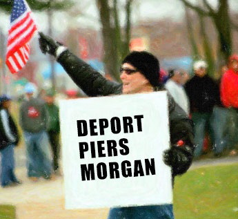 Deport Piers Morgan