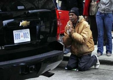 Brother, Can You Spare A Dime: Man Begs To Obama