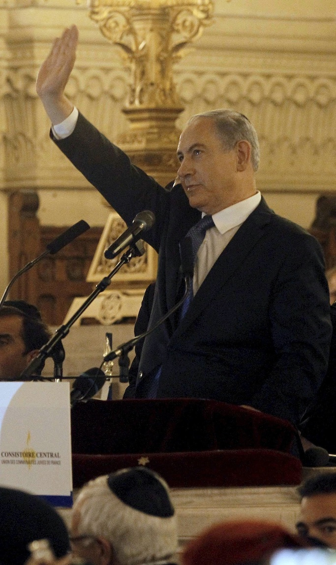 Netanyahu is Israel's Hitler