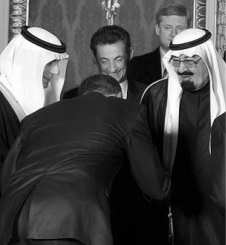 Obama bows to Saudis