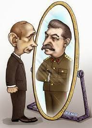 Putin is Stalin in mirror