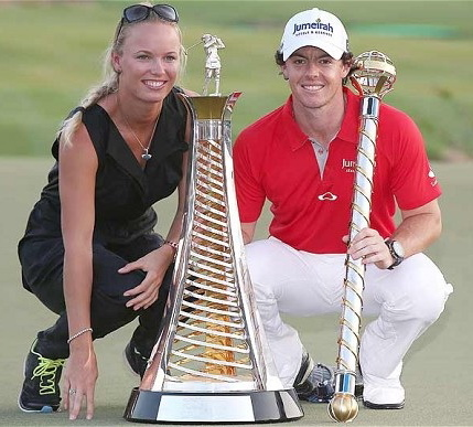 Rory and Caroline in Dubai