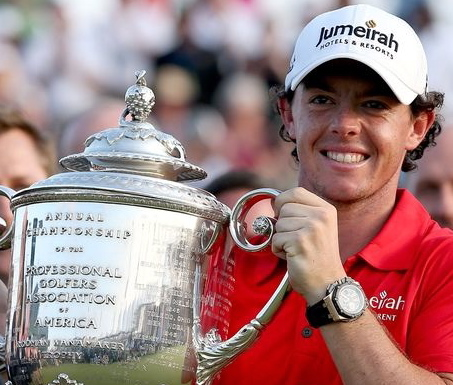 Rory wins PGA