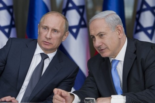 Putin and Netanyahu: two swine
